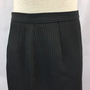 Vintage Skirts - 90's Vertical Pinstripe #girlboss Career Skirt